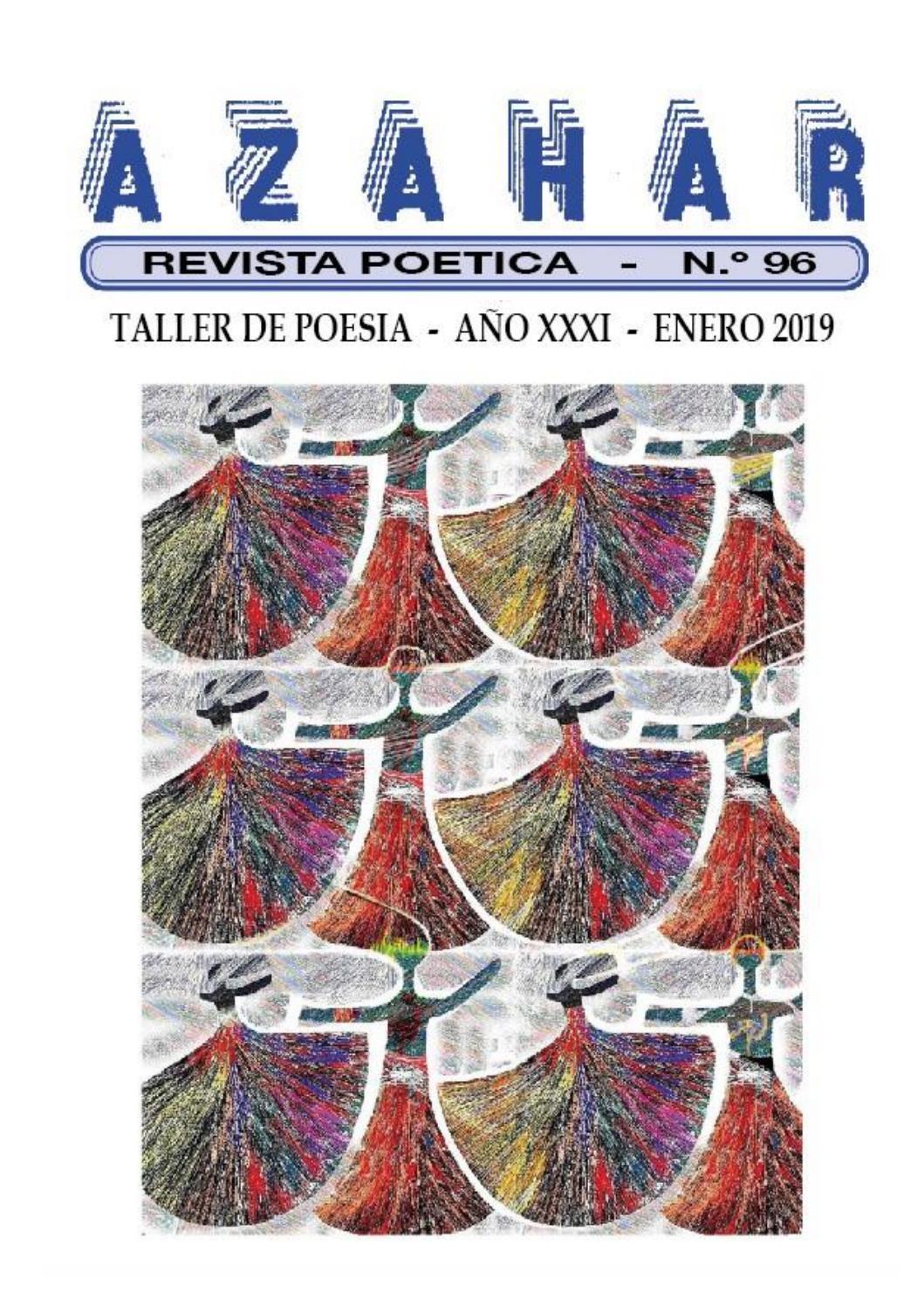 REVISTA POÉTICA AZAHAR NOVENTA Y SEIS by Rusvelt Nivia