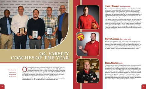 Page 14 of OC Varsity Coaches of the Year