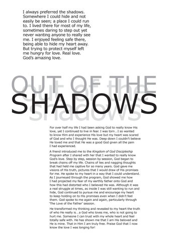 Page 4 of Out of the Shadows