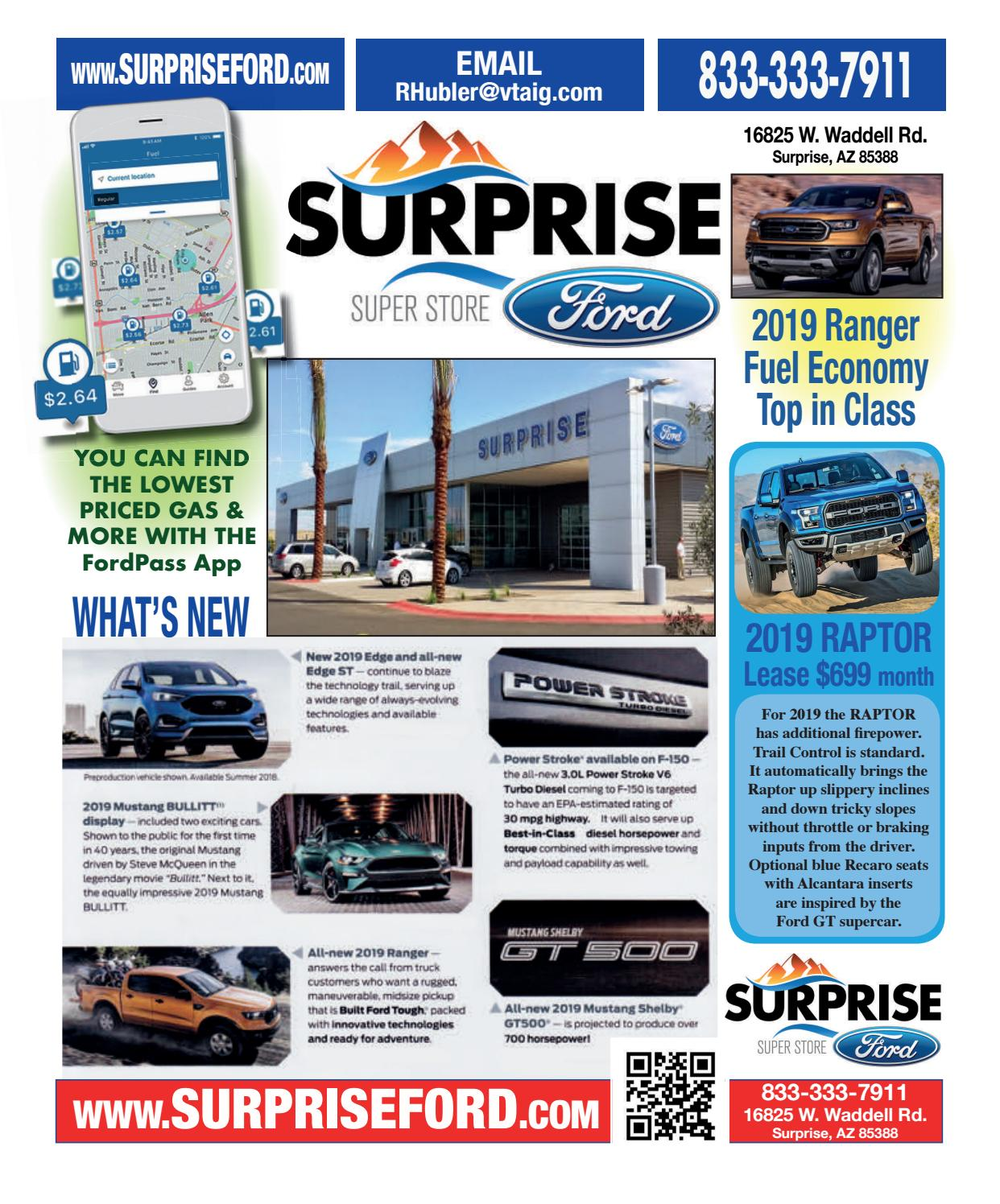 Surprise Ford January 2019 Edition