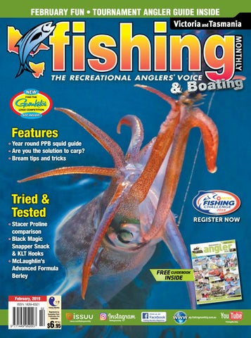 Victoria and Tasmania Fishing Monthly February 2019 by Fishing ... ace2b91c56f8