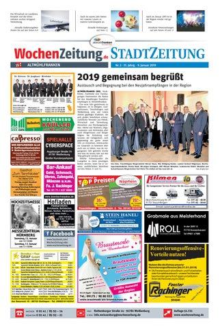Wochenzeitung Altmuhlfranken Kw 02 19 By Wochenzeitung