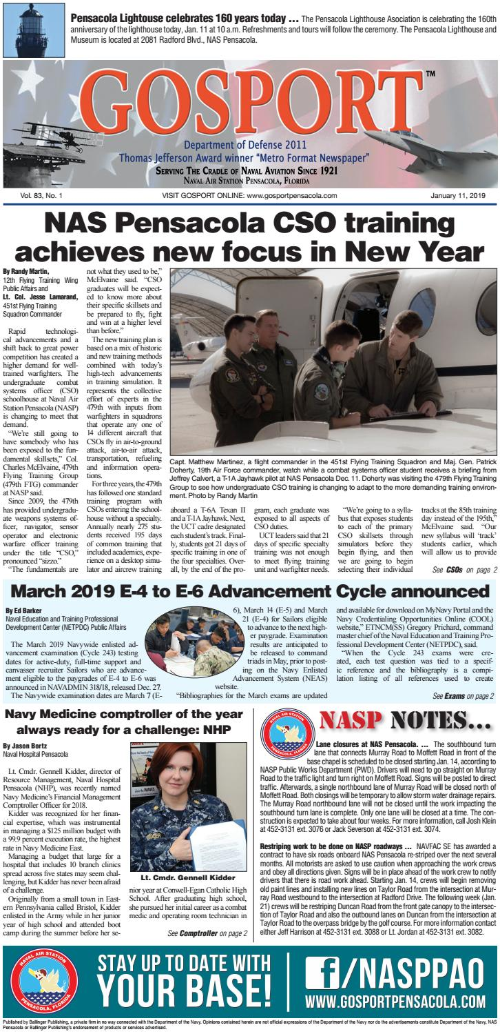 Gosport - January 11, 2019 by Ballinger Publishing - issuu