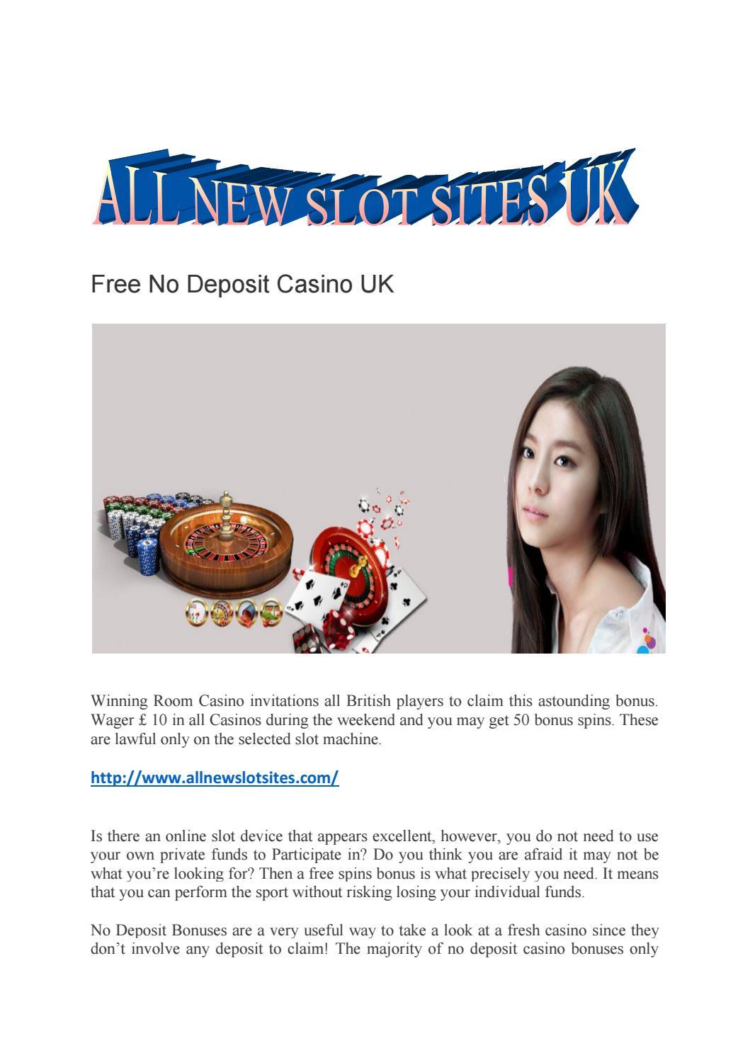 No Deposit Casinos Uk