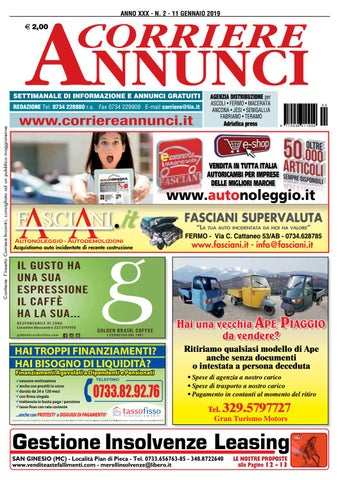 87022863ac Corriere 2-2019 by Corriere Annunci - issuu