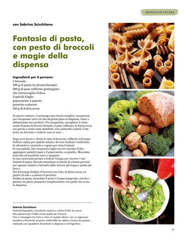 Page 25 of Fantasia di pasta, con pesto di broccoli e magie della dispensa
