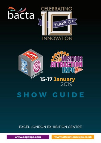 EAG 2019 Show Guide by Holiday Parks Management