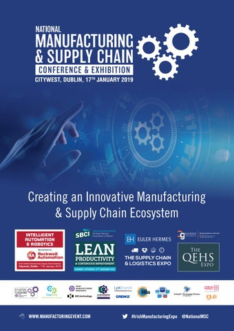 National Manufacturing   Supply Chain Conference   Exhibition 2019 ... 2267e9543d3c8