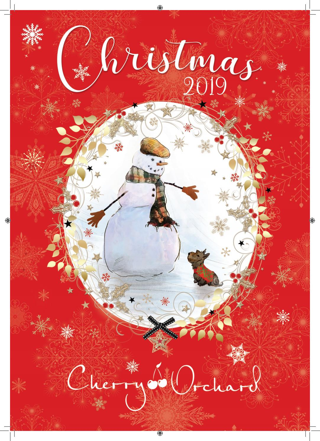Cherry Orchard Christmas Greeting Card Designs 2019 By