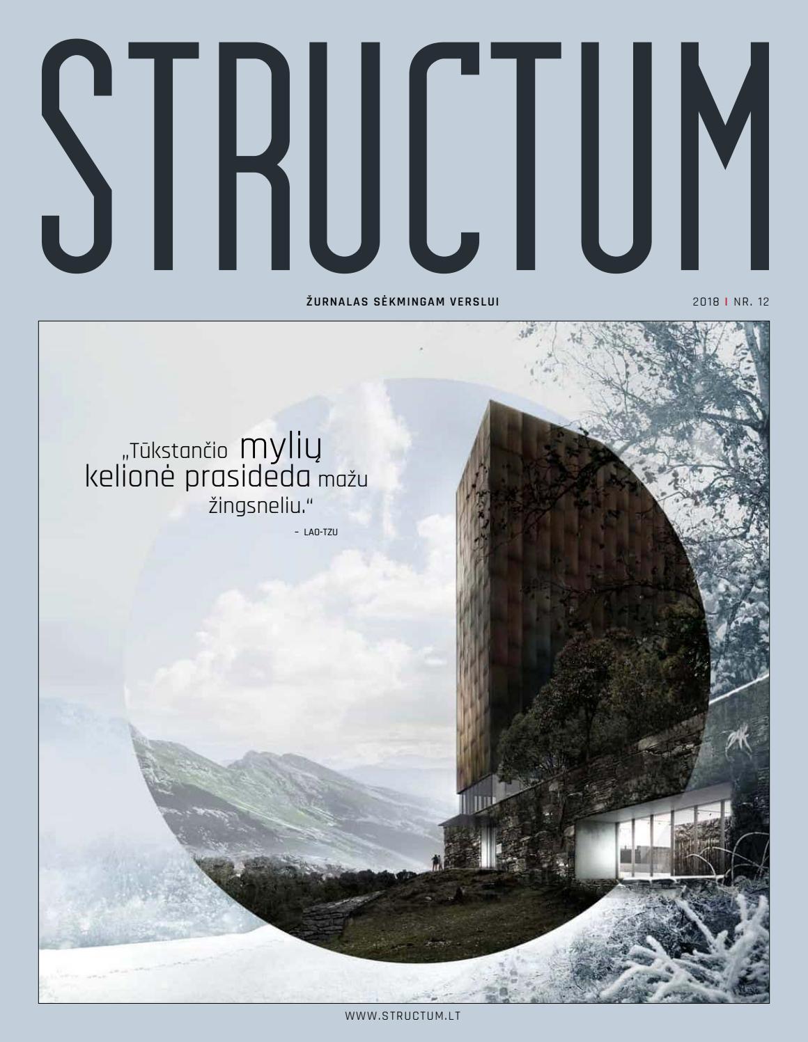 Lavabo Acro Compact.Structum Gruodis 2018 By Uab Structum Projektai Issuu