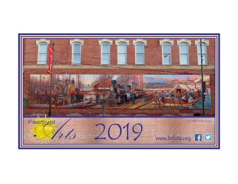 2019 Big Rapids Festival Of The Arts By Tim Moslener Issuu