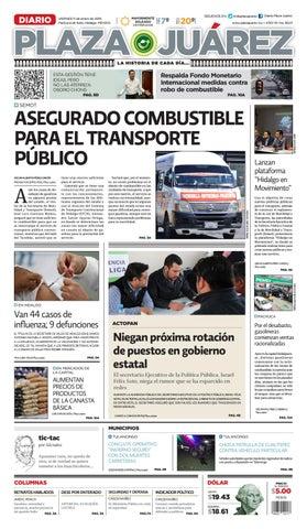 11-01-19 by Diario Plaza Juárez - issuu 5635d4a6f6d65