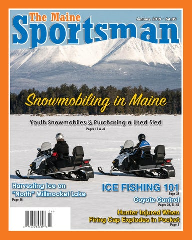 d24f1373 The Maine Sportsman - January 2019 by The Maine Sportsman - Digital ...
