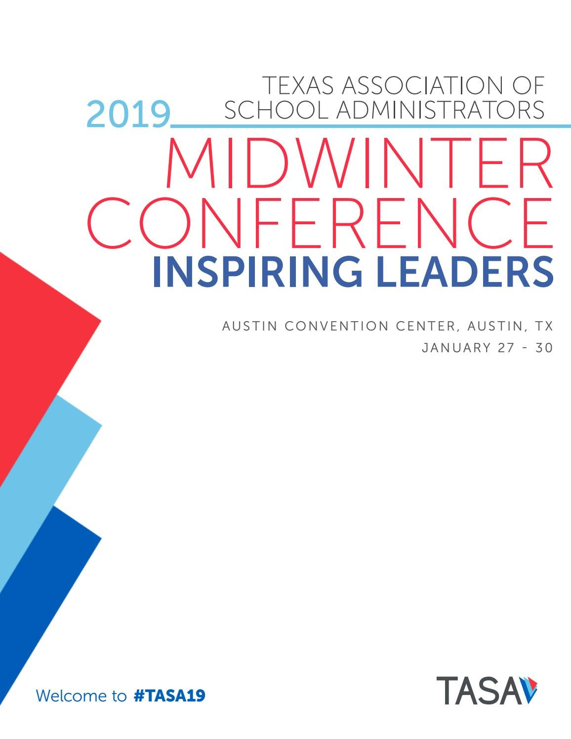 2019 Midwinter Conference Program by Texas Association of