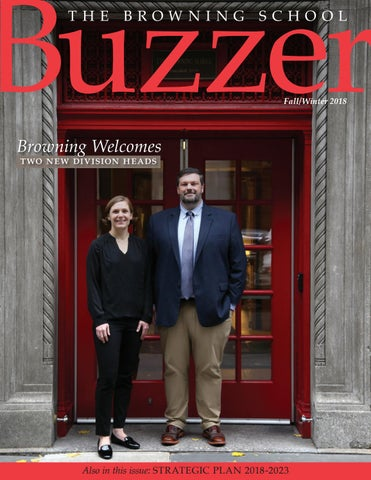 Buzzer Fall/Winter 2018 by The Browning School - issuu