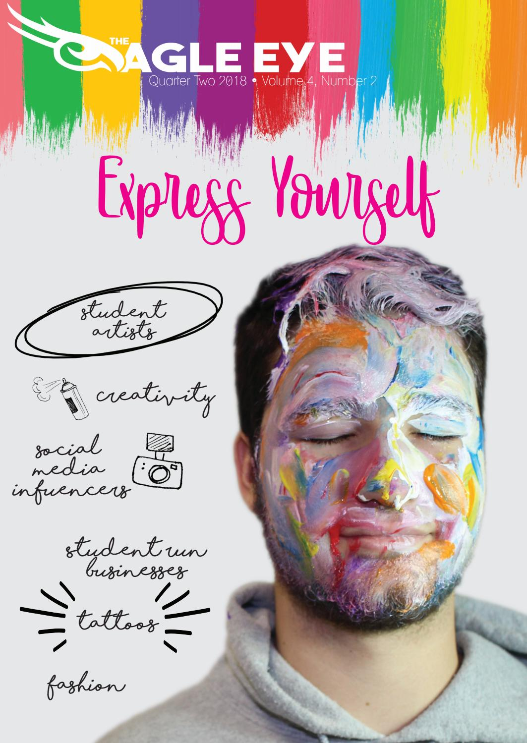 Express Yourself - The Eagle Eye Volume 4, Number 2 by The