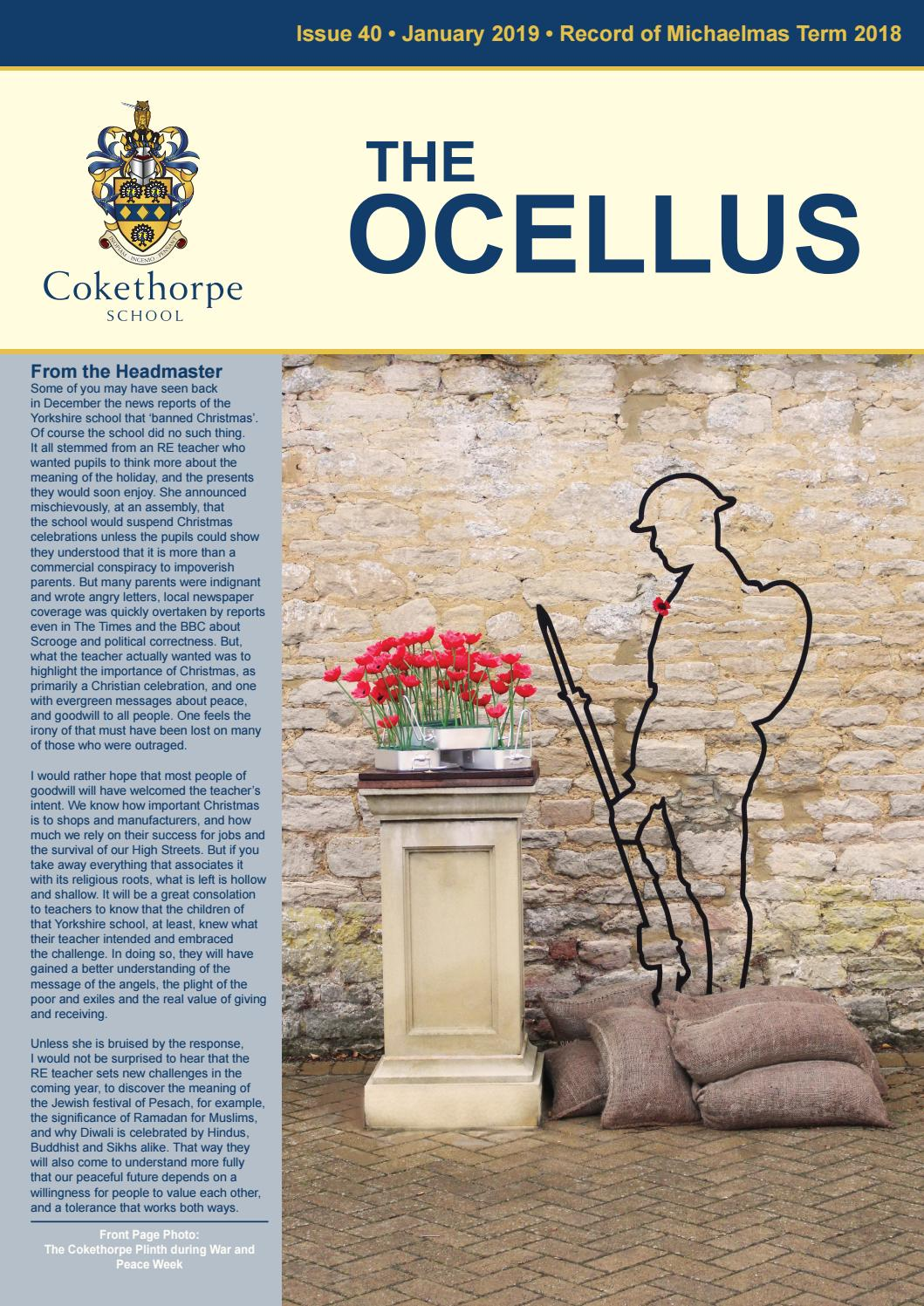 707631339f8 Ocellus Michaelmas Term 2018 by CokethorpeSch - issuu