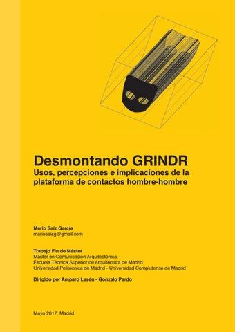 Desmontando GRINDR_ Mario Saiz García by MAca Etsam - issuu