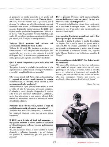 Page 43 of La moda uomo del nuovo anno