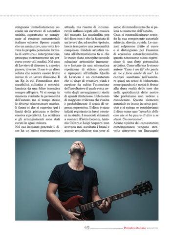 Page 49 of Levriero: una personalità complessa