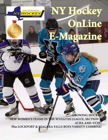 a9d8fe36 NY Hockey OnLine E-Magazine, September-December 2018 by NY Hockey ...