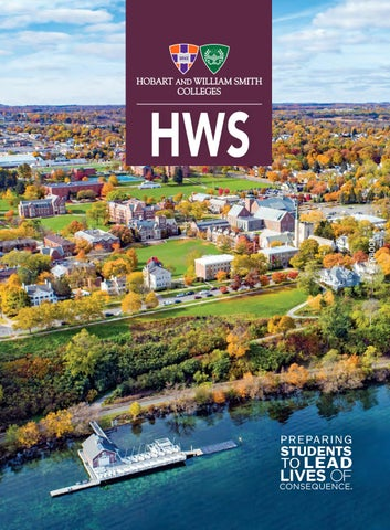 2018 Hws View Book By Hobart And William Smith Colleges Issuu