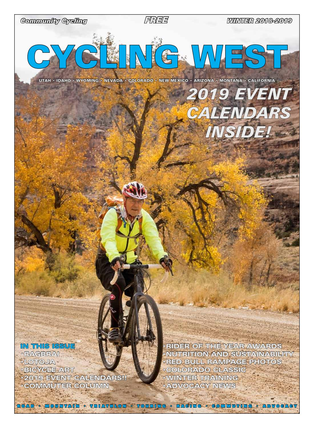 612895b38 Cycling Utah and Cycling West Magazine's Winter 2018-2019 Issue by Cycling  Utah - issuu