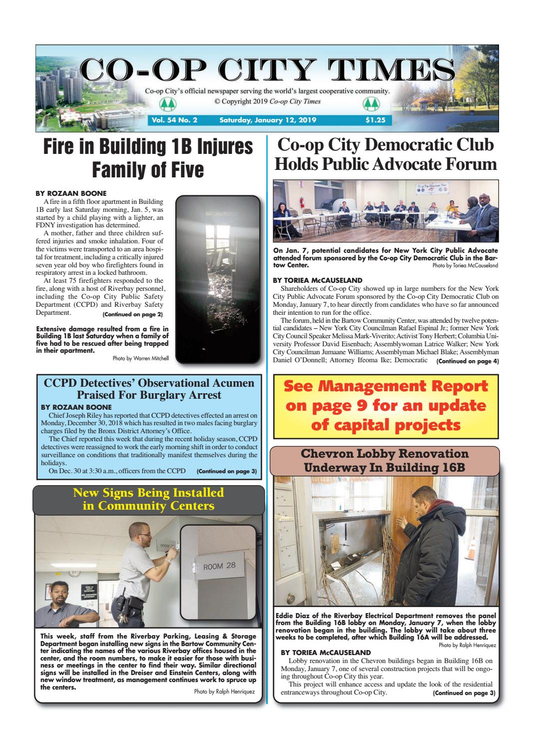 Co-op City Times 1/12/19 by Co-op City Times - issuu