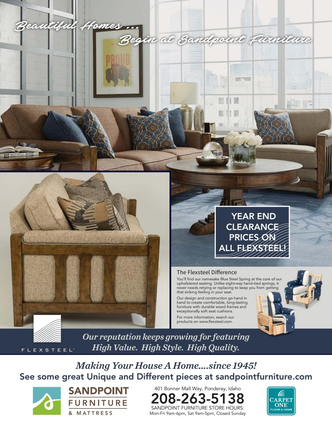 January Sandpoint Living Local Issuu Jpg 1148x1490 Furniture Ponderay