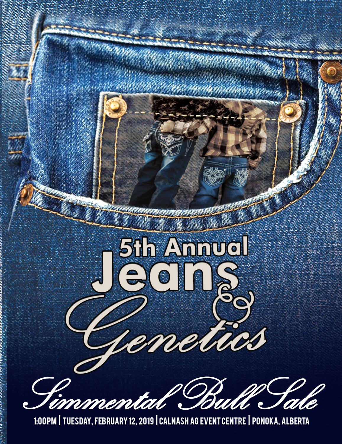 Jeans and Genetics 2019 Bull Sale by Today's Publishing Inc