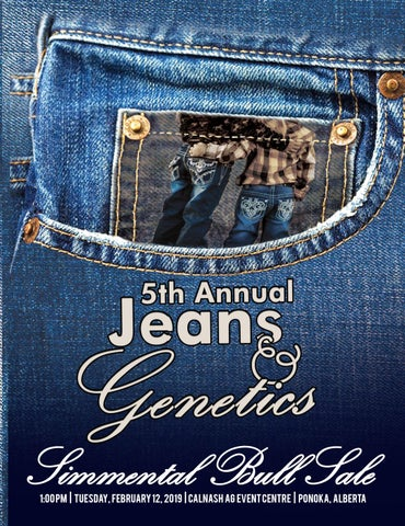 a42a12617c1 Jeans and Genetics 2019 Bull Sale by Today s Publishing Inc. - issuu