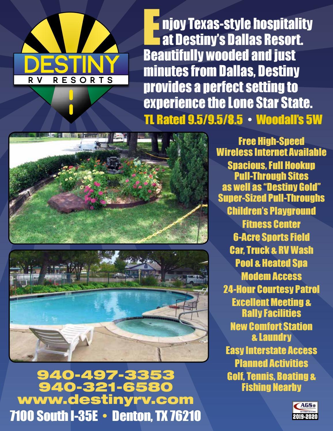 Dallas Destiny RV Resort by AGS/Texas Advertising - issuu