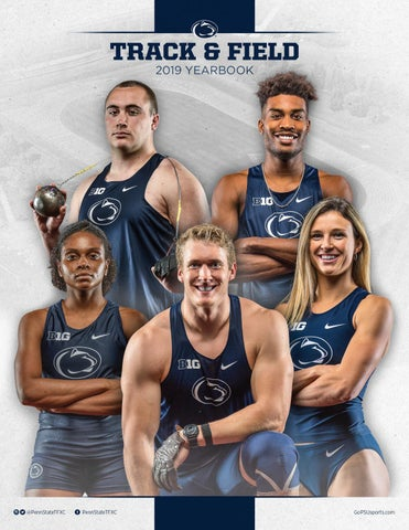 2018-19 Penn State Track & Field Yearbook by Penn State