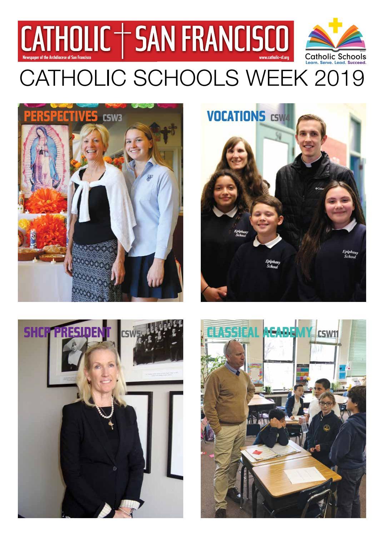 January 17 2019 Catholic Schools Week By Catholic San Francisco Issuu