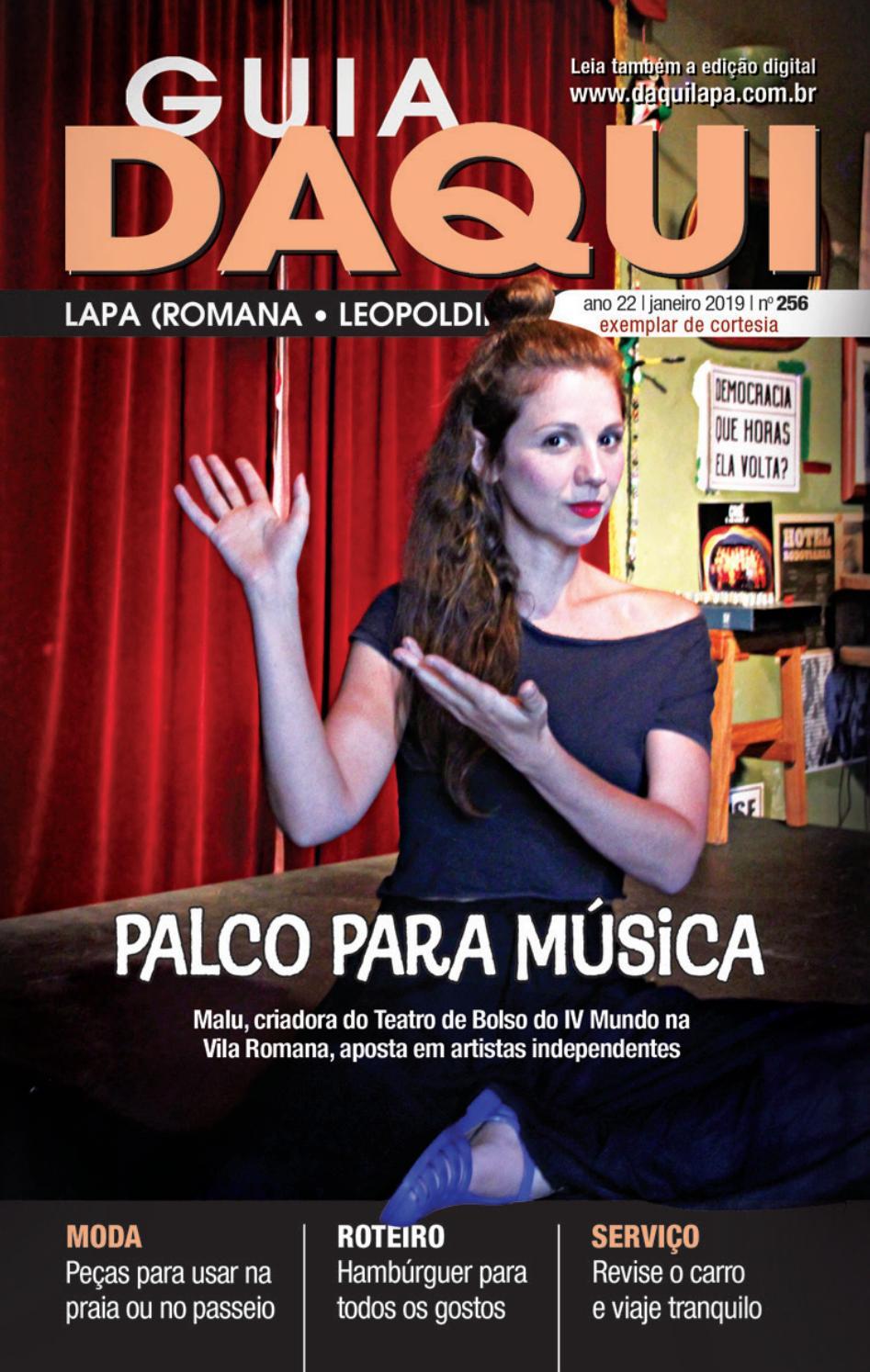 765ed776b Daqui Lapa - Edição 256 - Janeiro de 2019 by Página Editora e Jornalismo -  issuu