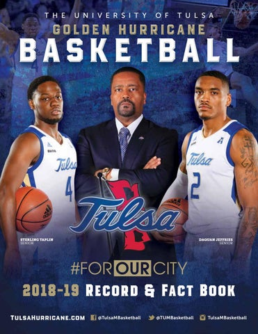 outlet store sale 020ab 0e9b8 2018-19 Tulsa Men s Basketball Record   Fact Book by Jordan Korphage ...