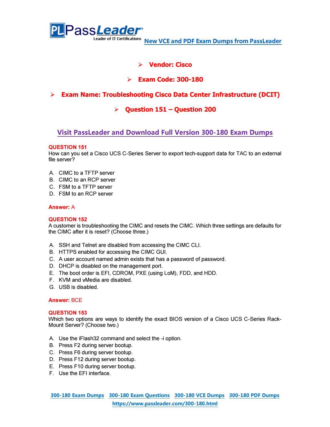 2019-New-PassLeader-300-180-Exam-Dumps-VCE-PDF-Braindumps