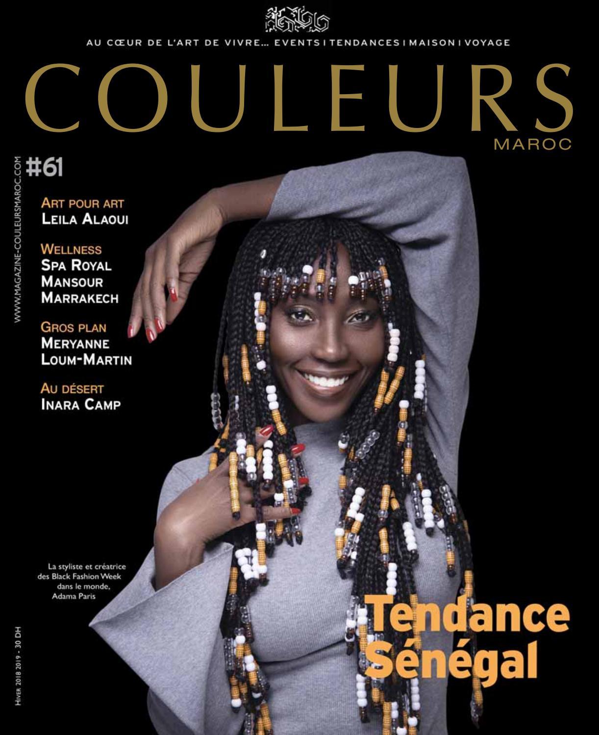 COULEURS MAROC N61 by ArtpourArt - issuu 6c86f1735882