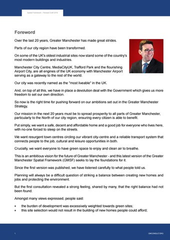 Page 3 of Foreword by Andy Burnham