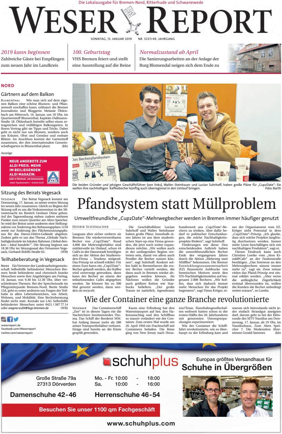 Weser Report - Nord vom 13.01.2019 by KPS Verlagsgesellschaft mbH ...