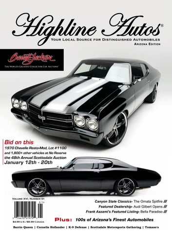 Highline Autos Volume XVI, Number 01 by highline-autos - issuu