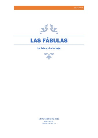 Page 1 of Fábula