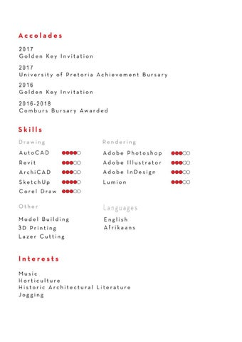 Page 5 of Curriculum Vitae