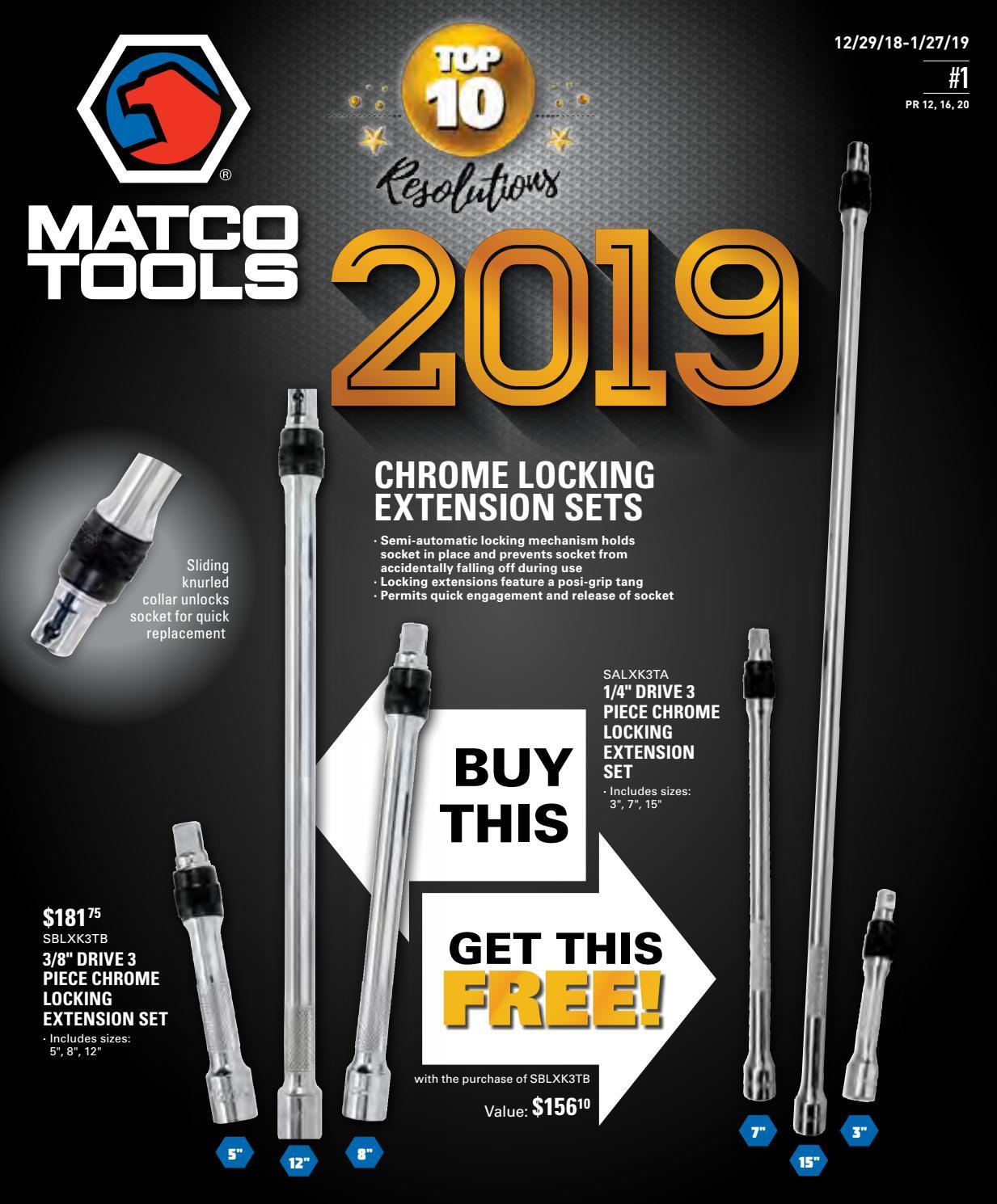 Matco Tools Flyer #1 2019 by Dean Austin - issuu