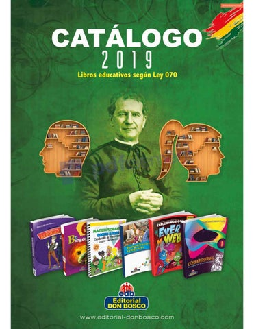 Catalogo 2019 Libros Educativos Editorial Don Bosco By Www
