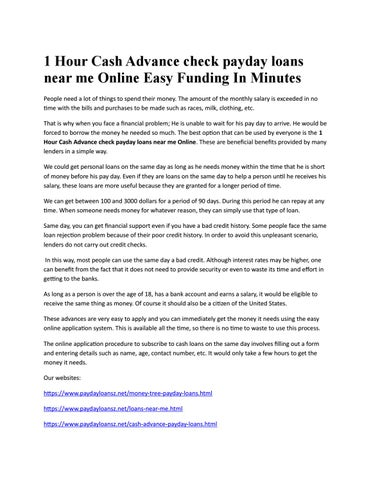 24/7 payday advance borrowing products