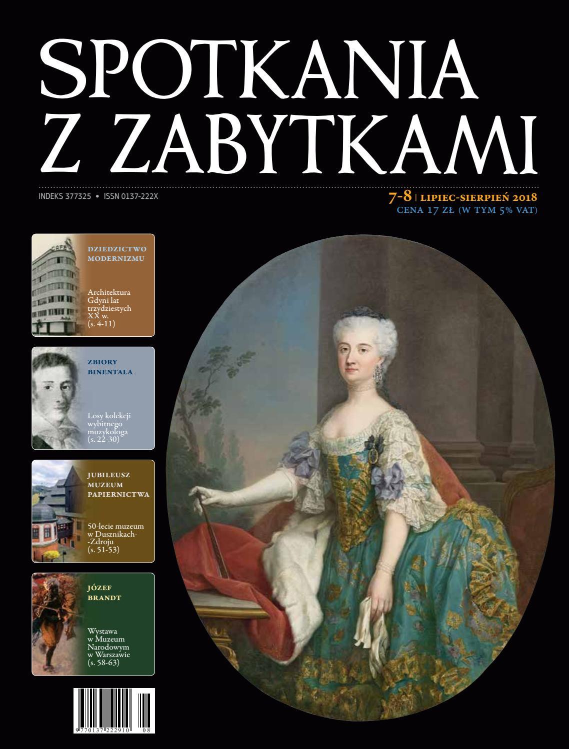 Spotkania Z Zabytkami 7 8 2018 R By Fundacja Hereditas Issuu