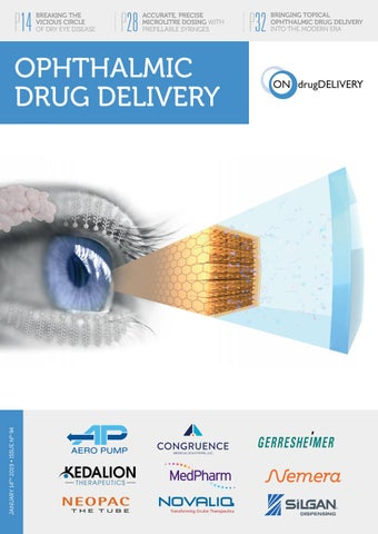 Ophthalmic Drug Delivery - ONdrugDelivery - Issue 94 - Jan 2019 by