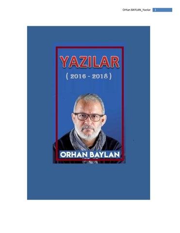 80ff614e554d2 Orhan BAYLAN by Çetin Koşar - issuu