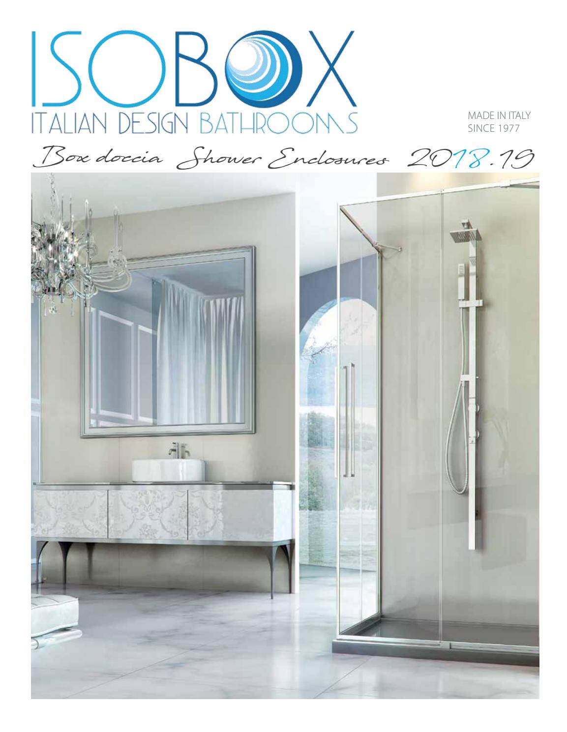 Vente chaude 2019 joli design complet dans les spécifications CATALOGO ISOBOX 2018-2019 box doccia / ISOBOX CATALOGUE 2018 ...